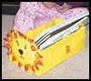 Paper   Maché Lion Book Holder   : Grandparents Day Crafts Activities Ideas