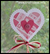 Heart   Plant Stick  : Grandparents Day Crafts Projects Ideas