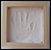 Plaster   Handprint Picture
