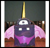 <strong>One   Eyed, One Horned, Flying Purple People Eater Paper Mache Version</strong>