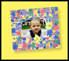 Bright   Borders Picture Frame  : Grandparents Day Crafts for Kids