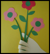 Handprint   Bouquet   : Grandparents Day Gifts Crafts Ideas for Children