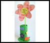 I   Love My Mum Flower  : Grandparents Day Crafts Projects Ideas