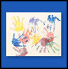 I'm   Growing Up Handprints  : Grandparents Day Crafts Projects Ideas