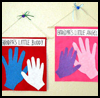 Handprint   Wall Hanging   : Grandparents Day Gifts Crafts Ideas for Children
