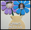 Flower Photo Frame And Card : Grandparents Day Gifts Crafts Ideas for Children