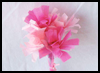 Tissue   Paper Carnation Bouquet