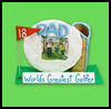 Gift for a Golfer's Desk   : Grandparents Day Gifts Crafts Ideas for Children