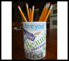 Special   Words Pencil Holder