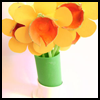 Bunch   of Daffodils  : Grandparents Day Crafts for Kids