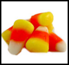 Candy   Corn Card  : Candy Corn Crafts Ideas  for Kids