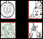 Ivyjoy.com  : Free Halloween Coloring Page Printouts