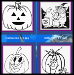 Coloring.zonaeunlimited.com    : Halloween Coloring Free Printouts