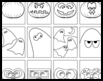 Lil-fingers.com  : Free Halloween Coloring Page Printouts