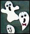 Ghost   Pins   : How to Make a Halloween Pin for Children