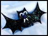 Bat   Pins  : Halloween Decorative Pin Crafts for Kids