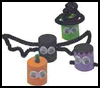 Marshmallow   Halloween Guys  : Halloween Decorative Pin Crafts for Kids