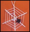 Foam   Spider Web  : Halloween Spider Web Crafts for Kids