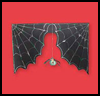 Creepy   Spider Web  : Halloween Spider Web Crafts for Kids