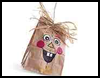 Scarecrow   Treat Bag   : Trick-or-Treat Bags Activities for Children