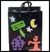 Decorated   Halloween Bags  : Halloween Treat Bags Craft Ideas for Kids
