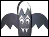Milk   Carton Bat Treat Holder  : How to Make Halloween Treat Bags Instructions