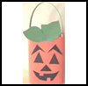 Pumpkin   Milk Carton Treat Bag  : How to Make Halloween Treat Bags Instructions
