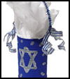 Chanukah    Craft: Gift Can  : Chanukah Crafts for Jewish Kids