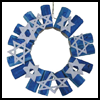 Hannukah    Wreath   : Hanukkah Crafts Activities for Jewish Children