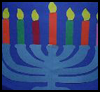 Magnificent    Menorahs  : Arts and Crafts Projects Ideas for Hanukkah