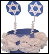 Hannukah    Crown or Hat   : Hanukkah Crafts Activities for Jewish Children