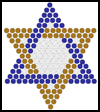 Hanukkah    Fuse Bead Patterns  : Arts and Crafts Projects Ideas for Hanukkah