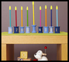 "<SPAN LANG=""en"">Cool    Hanukkah Menorah Craft  : Chanukah Crafts for Jewish Kids</SPAN>"