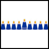 Craft    Spoon Menorah   : Hanukkah Crafts Activities for Jewish Children