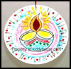 Diwali   Lamp Mobile  : Hindu Crafts for Children
