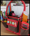 Make a Homework Caddy Kit Back to School Craft