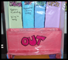 School Work and Homework Organizer Craft