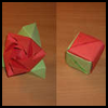 How-to fold an Origami Magic Rose Cube Video Tutorial