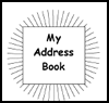 My   Address Book  : How to Make Address Books Craft for Kids
