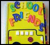 School   Friends Address Book  : How to Make Address Books Craft for Kids