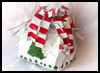 Candy Cane Gift Bagg : How to Make Bag Crafts Instructions for Kids
