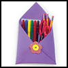 Locker    Pockets   : Making Envelopes Crafts Ideas for Children