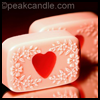 Valentine's   Heart Embed Soaps