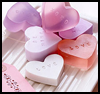 Heart-Shaped   Soap  : Instructions for Making Homemade Soap