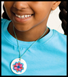 Kids'   Art Necklace   : Easy Instructions for Making Necklaces