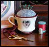 Teacup   Pincushion  : How to Make a Pincushion Craft for Kids