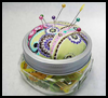 Pincushion   From a Jar  : How to Make a Pincushion Craft for Kids