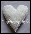 Fabric   Crafts - Sewing Crafts - Fabric Heart Pin Cushion