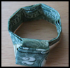 How   to Fold a Dollar Bill to Make a Finger Ring