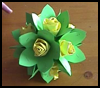 How to Make Paper Rose Ball Origami Tutorial
